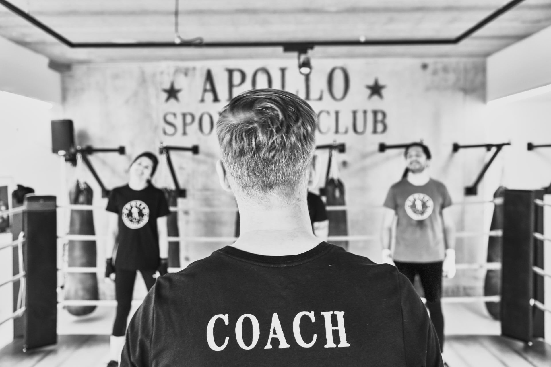 Coaching boxe anglaise chez Apollo Sporting Club