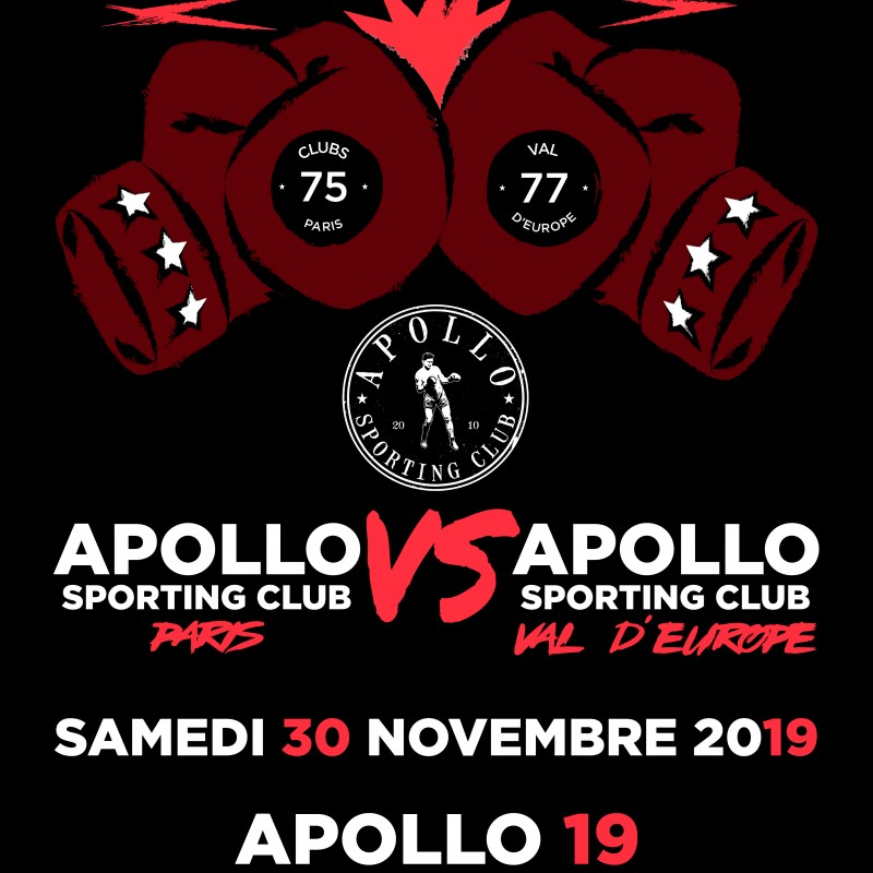 AFFICHE THE CLASH 2019-11-30